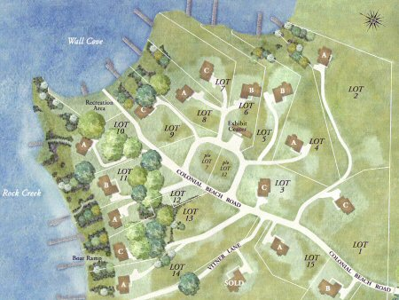 Annesley by the Bay Site Plan