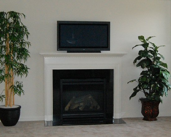 Marley Pointe Living Room Fireplace