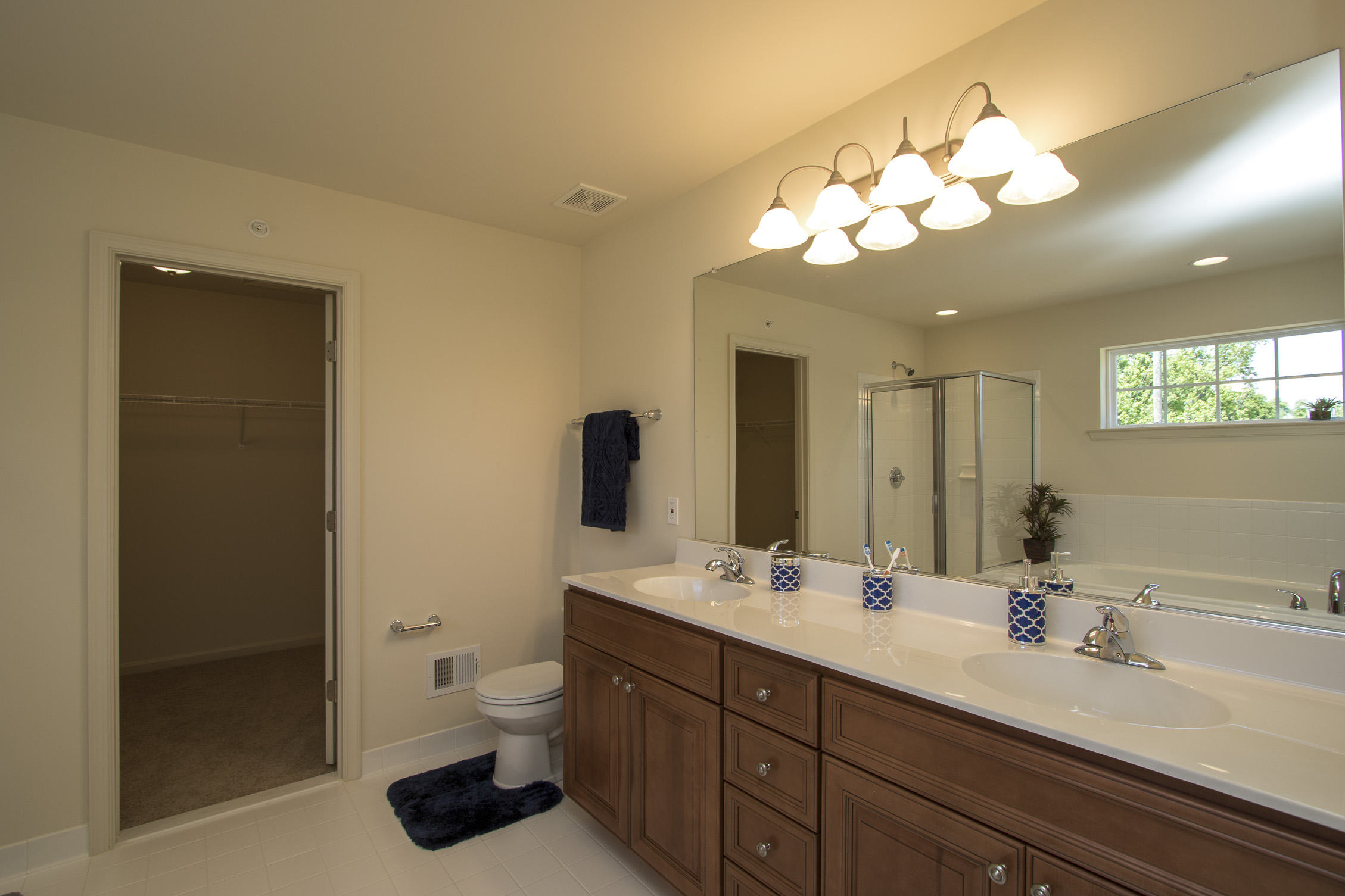 Marley Pointe Kaitlyn Model Master Bedroom Bath